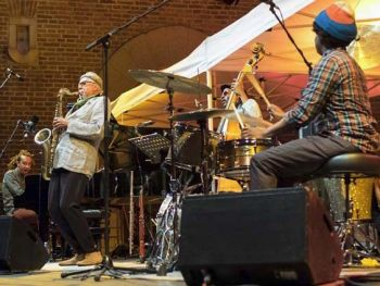 Charles Lloyd new band featuring Gerald Clayton Trio live at Palatia Jazz Fest